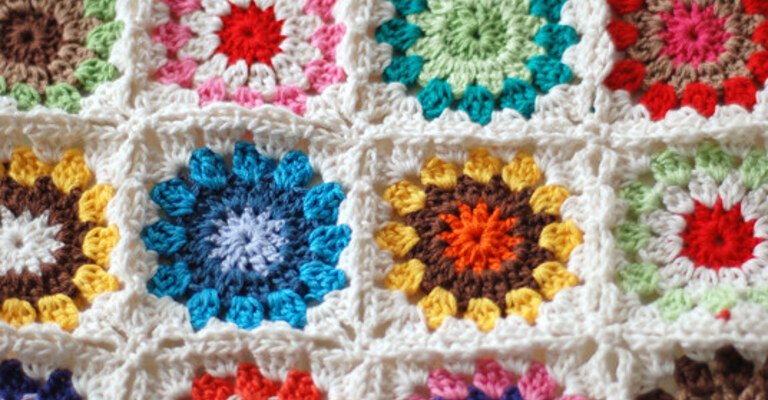 The Big SSAGO Blanket Knit and Crochet